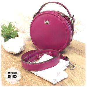 MICHAEL KORS Leather Satchel Crossbody